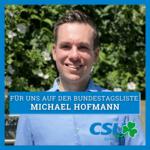 Michael Hofmann ist unser Listenkandidat für die #btw21