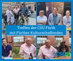 Treffen der CSU Fürth mit Fürther Kulturschaffenden