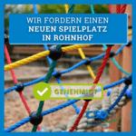 Neuer Spielplatz in Rohnhof
