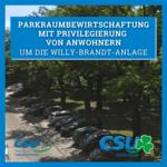 Parkraumbewirtschaftung um die Willy-Brandt-Anlage